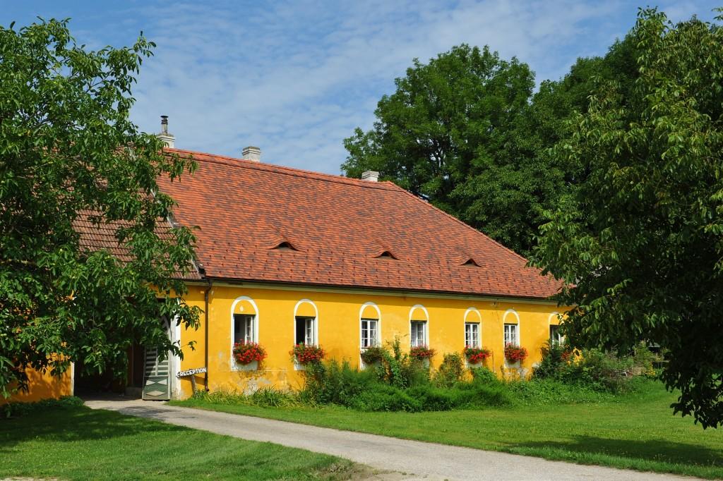 Campingplatz Finsterhof - Sommer am Finsterhof - ein Teil des Daches wurde heuer erneuert