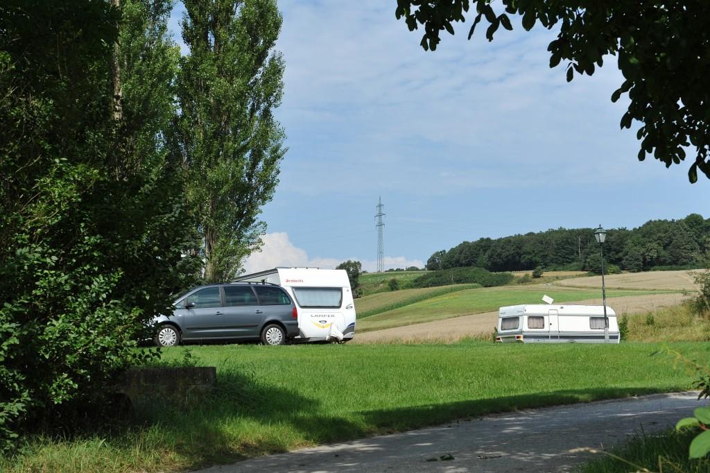 Campingplatz Finsterhof - Sommer am Finsterhof: Viel Platz und Ruhe auf unserem Campingplatz für Gäste aus ganz Europa