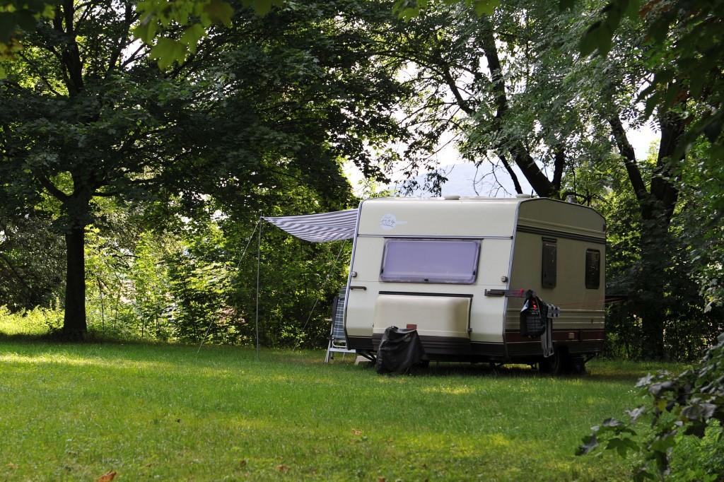 Campingplatz Finsterhof - Sommer am Finsterhof: Ein schattigiges Plätzchen ist im Hochsommer viel wert