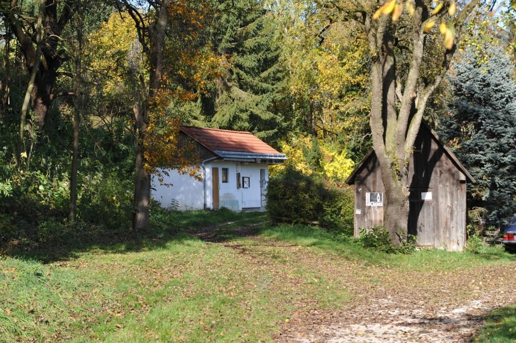 Campingplatz Finsterhof - ein Blick auf den Bereich unserer Dauercamper