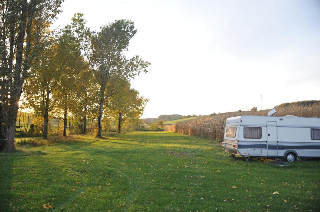 Campingplatz Finsterhof - viel Platz und Grün für Ihren Aufenthalt